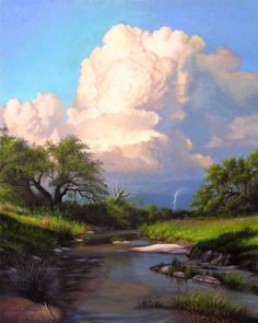 Still Waters  (painting by artist Layne Johnson)