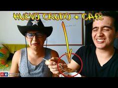 ¡COME HUEVO CRUDO CON CAFÉ! - RETO: ¿QUE PROBABILIDAD HAY? (PARTE 2)