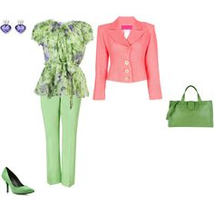 """Light Spring - yellowgreen"" by adriana-cizikova on Polyvore"