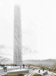 Torre Antena Santiago: Soza_Atanacio + Aguirre_Castro Arquitectos