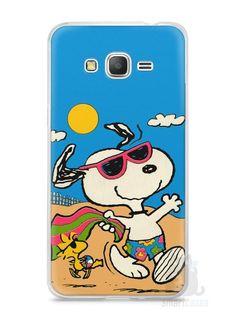 Capa Samsung Gran Prime Snoopy #1 - SmartCases - Acessórios para celulares e tablets :)