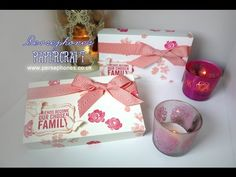 Pretty Stamped Box | Stampin' Up UK with Persephone's Papercraft