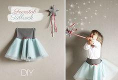 Kindertage | DIY: Einmal Fee zum Nachmachen bitte! – Kinder Tüllrock and Feenstab | http://kindertage.eu