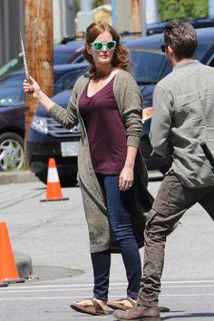 "Rebecca and Sean - Behind the scenes - 5 * 1 ""Dark Swan"" 17 July 2015"