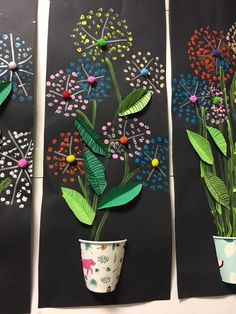 Trendy Spring Art Projects For Middle School Children 28 Ideas Spring Art Projects, School Art Projects, Spring Crafts, Art For Kids, Crafts For Kids, Art Children, School Children, Classe D'art, 3rd Grade Art