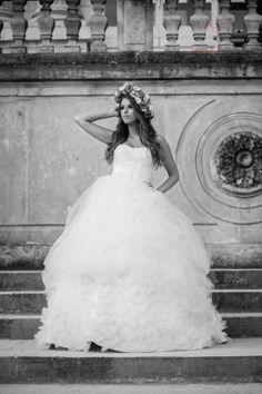 Gorgeous bride www.cristinaroteliuc.com