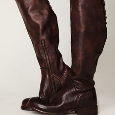 Bed Stu Free People Manchester Teak Leather Boots In excellent condition - only worn a handful of times. Please feel free to ask any questions as thank you for looking! Free People Shoes Combat & Moto Boots