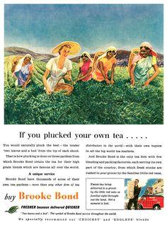 1953 Brooke Bond Tea ad | Flickr - Photo Sharing!