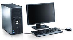 Ordinateur de bureau Dell - Tour + écran