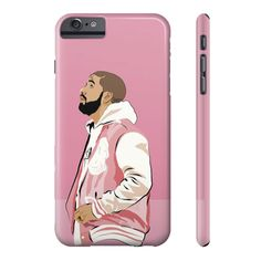 Drake Hotling Bling Pink OVO Jacket IPhone 4 5 6 6s Plus Galaxy s5 s6 case – Case15