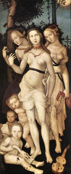 The Three Graces, Hans Baldung Grien ca, Museo del Prado, Madrid Hans Holbein, Renaissance Paintings, Renaissance Art, Roman Mythology, Greek Mythology, Hans Baldung Grien, Art Magique, Albrecht Dürer, Ages Of Man
