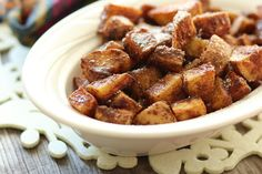 Last Minute Cinnamon Sugar Sweet Potatoes Recipe on Yummly. @yummly #recipe