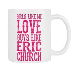 Eric Church Coffee Mugs
