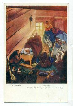 Zofia Stryjeńska  Guślarz  lata 30-te