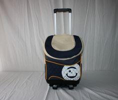 Gabriele Zechel - Hundekörbe, Le - Hunde Trolley Pet Bag blau 33 x 23,5 x 41 cm 5 - 7 kg www.gabriele-zechel.de