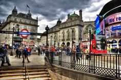 Piccadilly Circus, London...