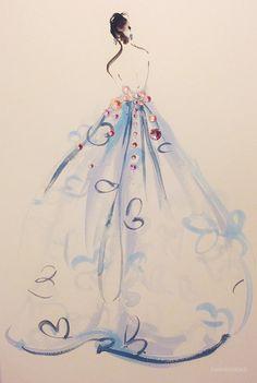 Katie Rodgers的创意时装插画_FASHIONDES 时尚要闻