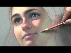 Secrets Of Drawing Most Realistic Pencil Portraits - - Pastel on Sennelier La Carte Sanded paper. If you like to learn about the colors… Secrets Of Drawing Realistic Pencil Portraits - Discover The Secrets Of Drawing Realistic Pencil Portraits Pencil Portrait, Portrait Art, Pastel Drawing, Painting & Drawing, Pastel Artwork, Pastel Pencils, Colored Pencils, Pastel Portraits, Painting People