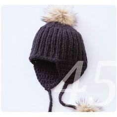 Mütze mit Ohrwärmer