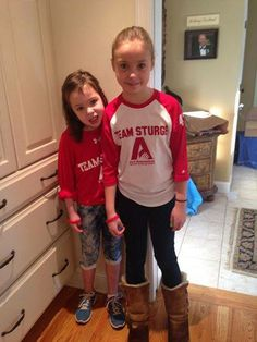 Let's hear it for these young advocates Emma & Dylan who are wearing their Red & White for ALS Awareness to school! Four schools in the state are participating in Red & White Day to raise awareness and funds for the chapter. Image courtesy of the Connecticut Chapter