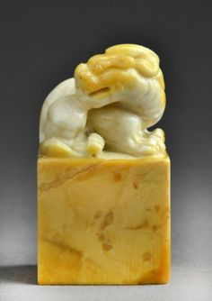 chinese chops   Chinese Soapstone Seal Chop : Lot 543