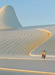 Zaha Hadid, Heydar Aliyev Cultural Center, Baku, Azerbaijan                                                                                                                                                      More