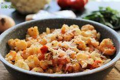 Chou-fleur à l'italienne, une délicieuse recette des paniers Bio My Recipes, Healthy Recipes, No Cook Meals, Bon Appetit, Love Food, Potato Salad, Macaroni And Cheese, Food And Drink, Nutrition