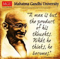 81 Best Quotes Mgu Images Mahatma Gandhi Education Learning