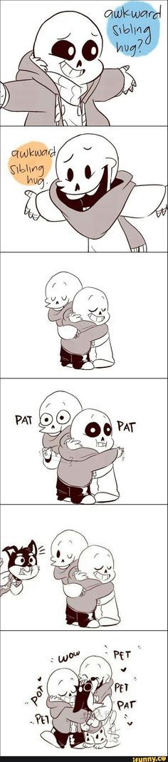 undertale, papyrus, sans, doggo--I love how this fandom and the Gravity Falls fandom are so friendly.
