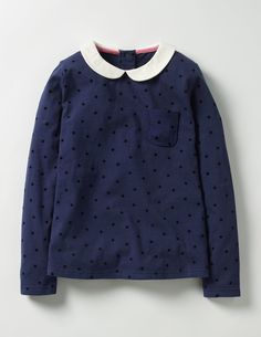Browse our range of girls' tops & T-shirts at Boden. Pick comfy cotton tees for every day or shop fun tops with embellished designs sure to stand out. Sewing Kids Clothes, Sewing For Kids, Babies Clothes, Latest Clothing Trends, Types Of Girls, Star Girl, Tween Fashion, Black Star, Girl Outfits
