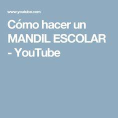 DELANTAL NIÑO JARDIN -Cómo hacer un MANDIL ESCOLAR - YouTube