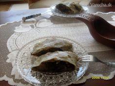 Makovo-jablková štrúdľa ťahaná (fotorecept) - recept | Varecha.sk Strudel, Pudding, Cooking, Desserts, Food, Kitchen, Tailgate Desserts, Deserts, Custard Pudding