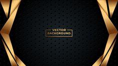 Wahyu_t - Freepik Golden Background, Vector Background, Abstract Backgrounds, Black Backgrounds, Church Icon, Id Card Template, Magazine Design, Cool Wallpaper, Business Card Design