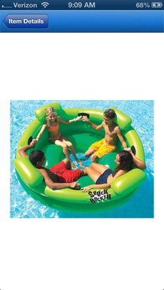 Awesome lake float