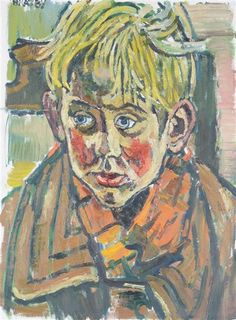 John Randall Bratby | Portrait of David | MutualArt