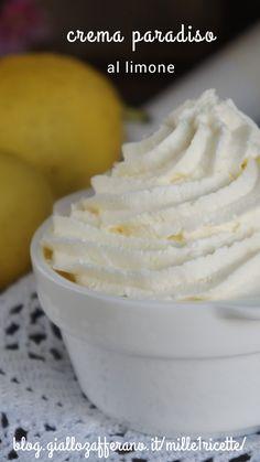 Lemon Recipes, Sweet Recipes, Creme Dessert, Cupcakes, Cake & Co, Cream Cream, Biscotti, Piece Of Cakes, Antipasto