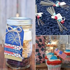 Quick  Easy #partyfavors for tomorrow's #4thofjulyparty.