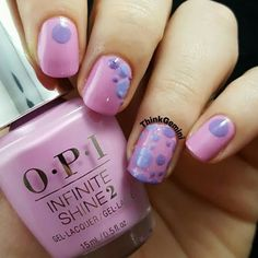 Would you try OPI Lucky Lucky Lavender Dots by Christine M? Vote on Preen.Me!