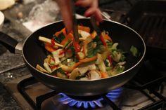 Stir fried veg