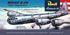 Revell Boeing Super Fortress first release Vintage Models, Old Models, Plastic Model Kits, Plastic Models, Airfix Models, Revell Monogram, Monogram Models, Aviation Art, Cover Pics