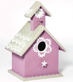 Radiant Orchid Birdhouse | Radiant Orchid Home Decor from @Jo-Ann Fabric and Craft Stores