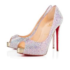 Women Shoes - New Very Riche Strass - Christian Louboutin