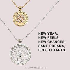Yes it's a new year again! #NikkiLissoni #whatsinsidecounts #newgoals