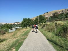 The Cycling Path Fiuggi-Paliano