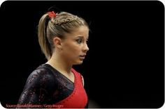 Best part in getting ready for a gymnastics meet-up is to make sure your hair is in tip-top form. Top 5 gymnastics hairstyles for your next competition below Black Girl Short Hairstyles, Braided Ponytail Hairstyles, Cute Girls Hairstyles, Everyday Hairstyles, Hairstyles For School, Wedding Hairstyles, Updo Hairstyle, Medium Long Hair, Medium Hair Styles