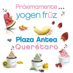 ¡Ya viene la apertura de #Yogen Früz México! Quédate al pendiente para que disfrutes todos sus deliciosos sabores.