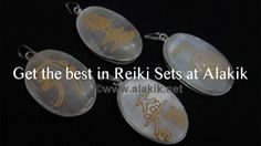 You can find the right Reiki sets at @Alakik Take a look at our blog on how to select the right set : http://www.alakik.net/blog/get-the-best-in-reiki-sets-at-alakik/ Image: take from blog