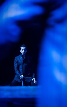 Tom HIddleston. Via @TeleTheatre.