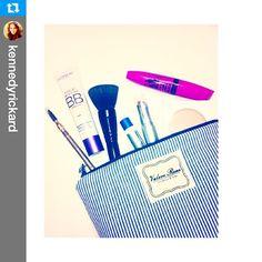 Shop our medium makeup bags at www.vrhandbags.com