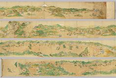 Japanese map 1600s